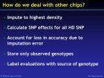 how do we deal with other chips