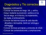 diagn stico y tto correctos1