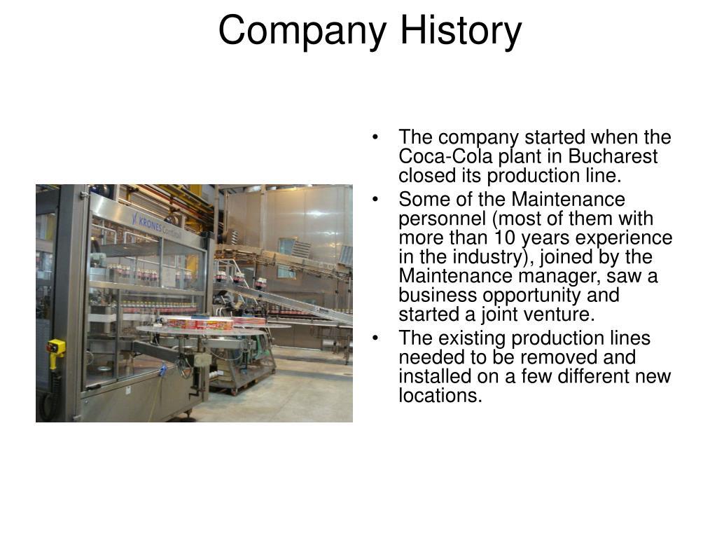 company history l.