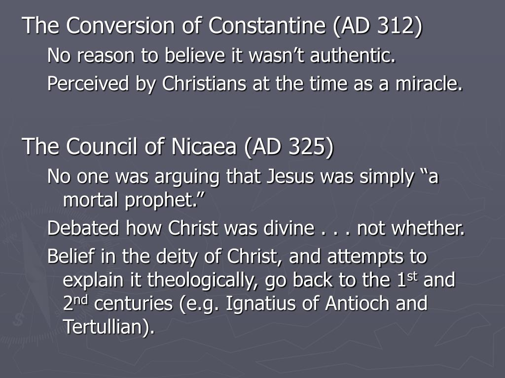 The Conversion of Constantine (AD 312)