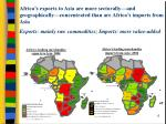 africa s leading merchandise imports from asia 2004