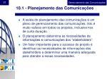 10 1 planejamento das comunica es