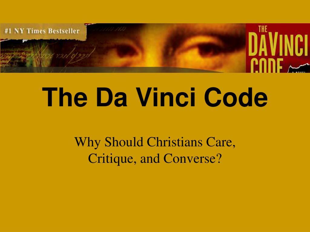 the da vinci code l.
