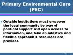primary environmental care pec59