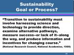 sustainability goal or process34