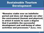 sustainable tourism development15