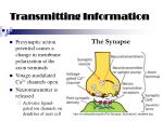 transmitting information38