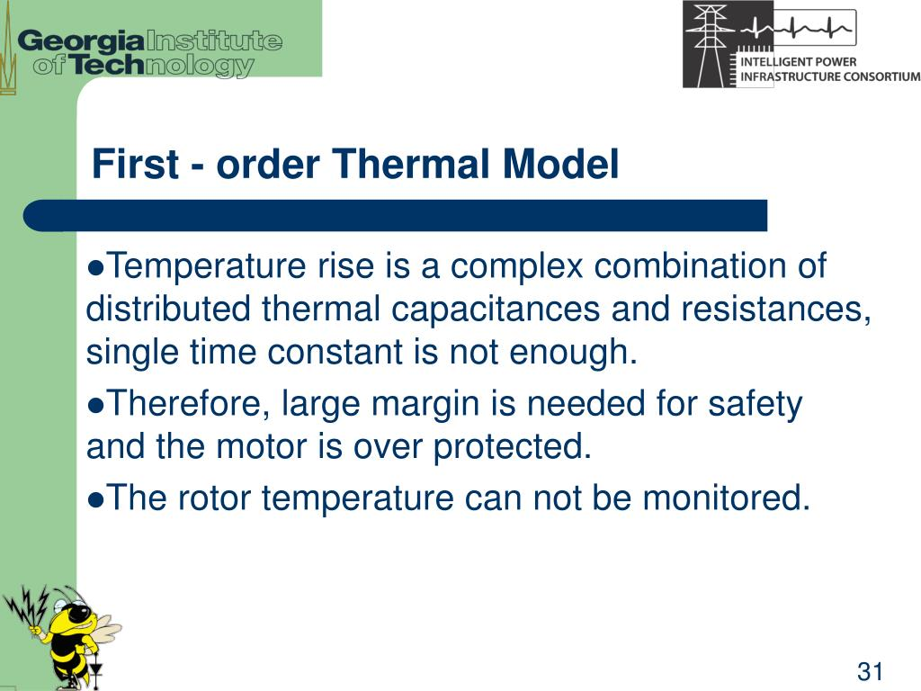 First - order Thermal Model