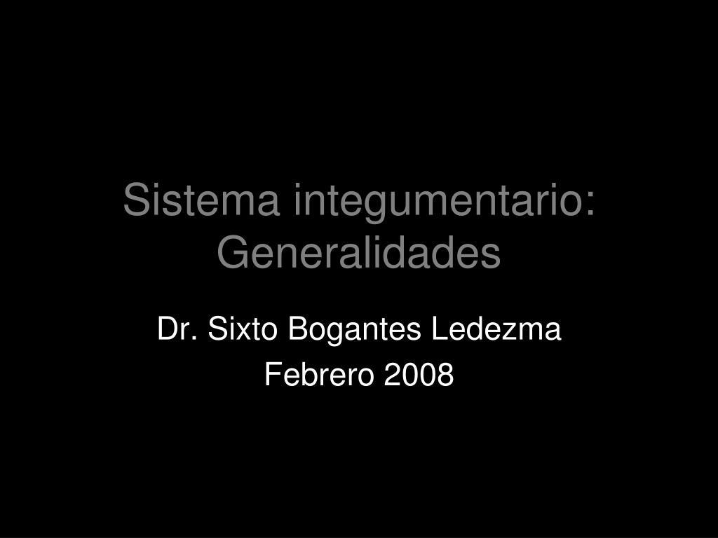 sistema integumentario generalidades l.