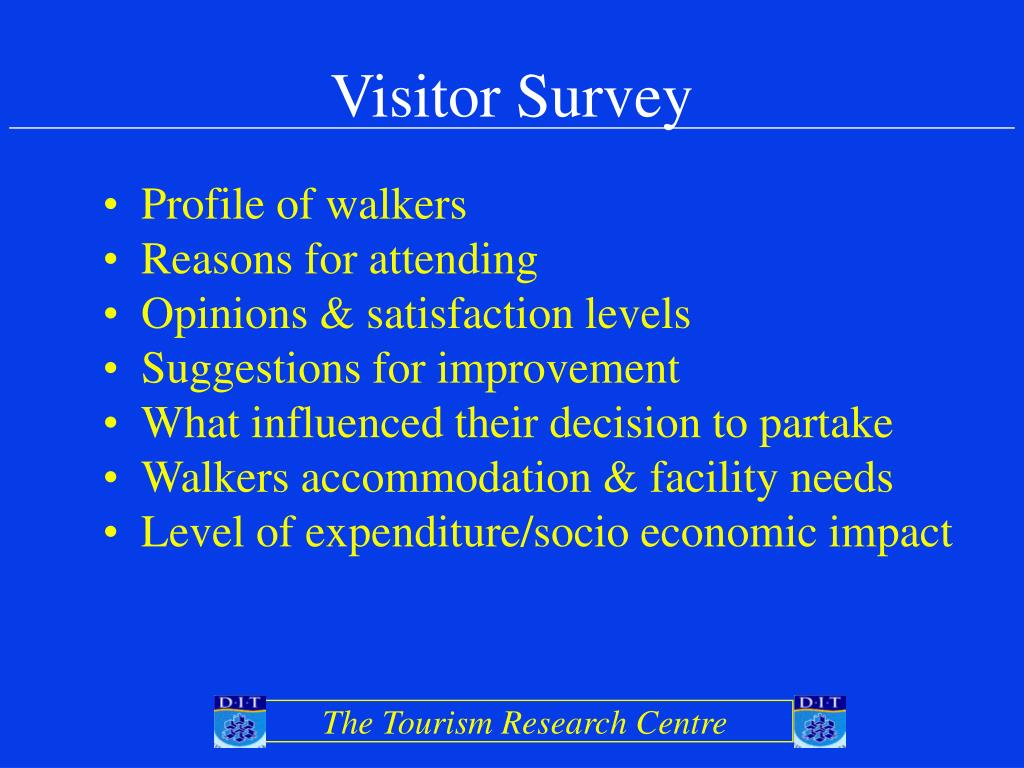 Visitor Survey