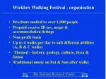 wicklow walking festival organisation