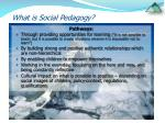 what is social pedagogy9