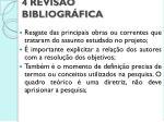 4 revis o bibliogr fica
