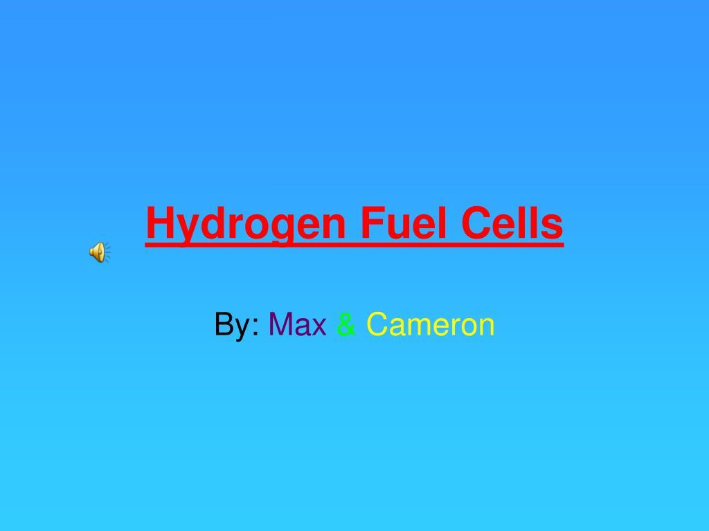 hydrogen fuel cells l.