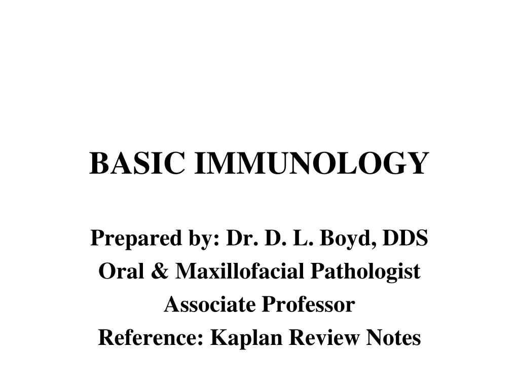 basic immunology l.