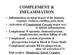 complement inflammation
