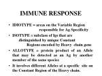 immune response61