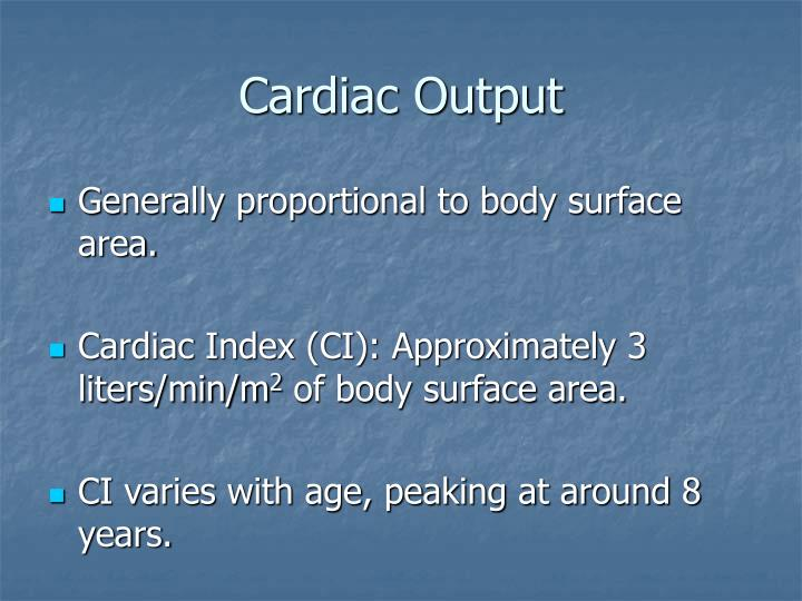 Cardiac output3