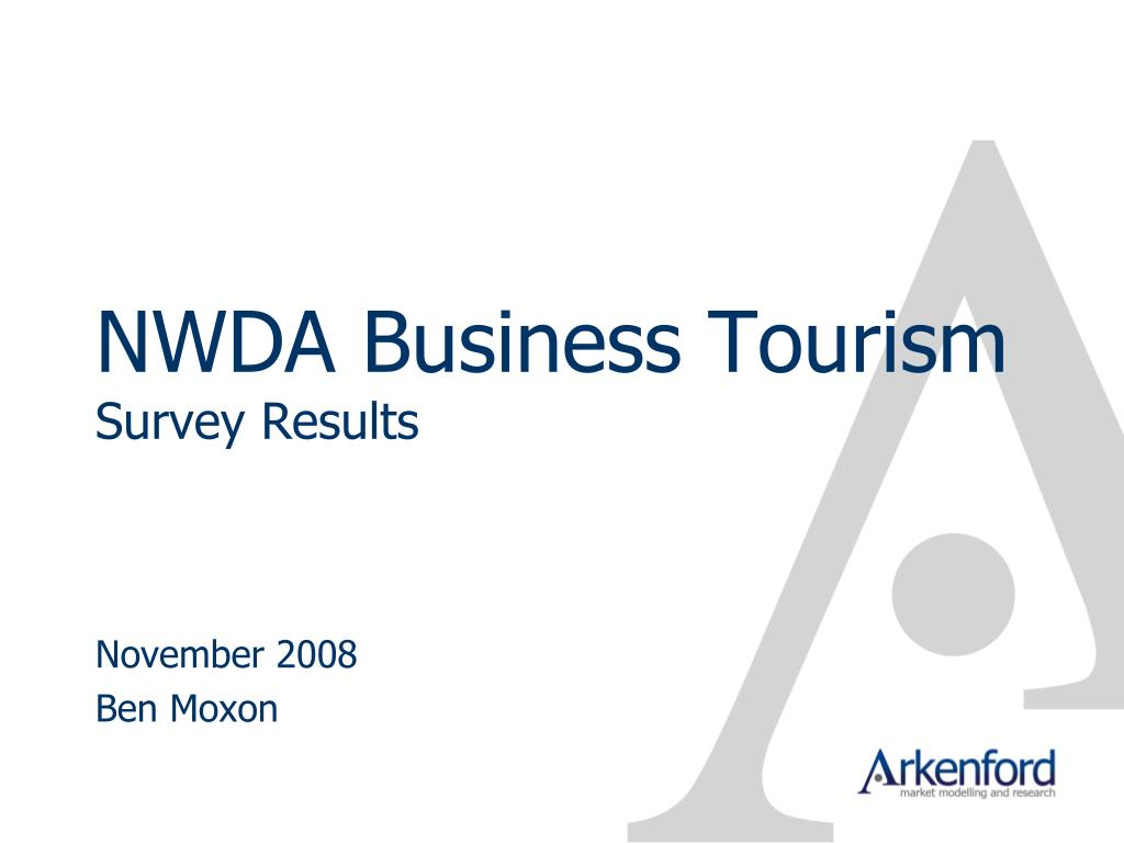 nwda business tourism survey results l.