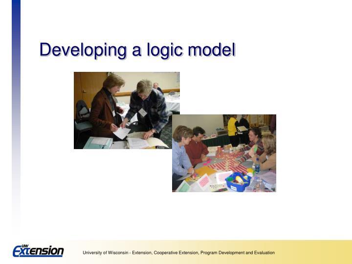 developing a logic model n.