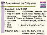 spa association of the philippines