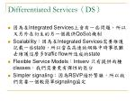 differentiated services ds