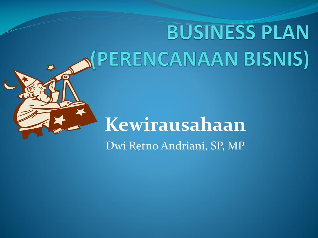 business plan perencanaan bisnis l.