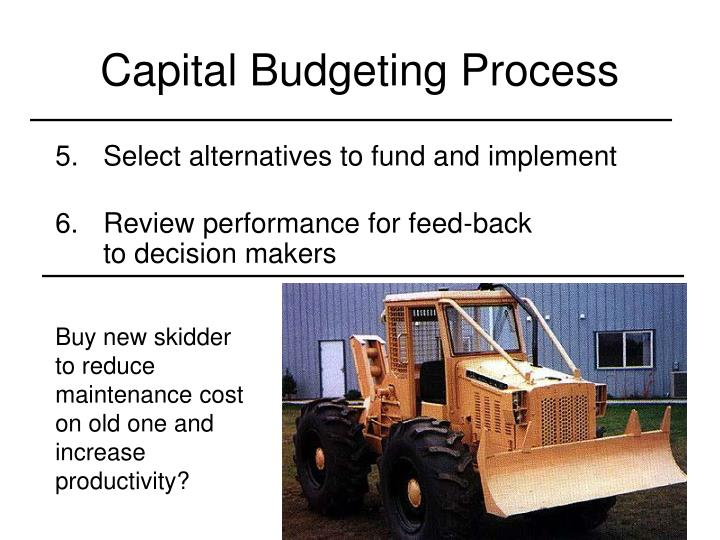 review of capital budgeting Capital planning and budgeting is a complex process characterized by uncertain long term projections, political pressures, shortage of resources and demands on a wide.