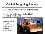 capital budgeting process5