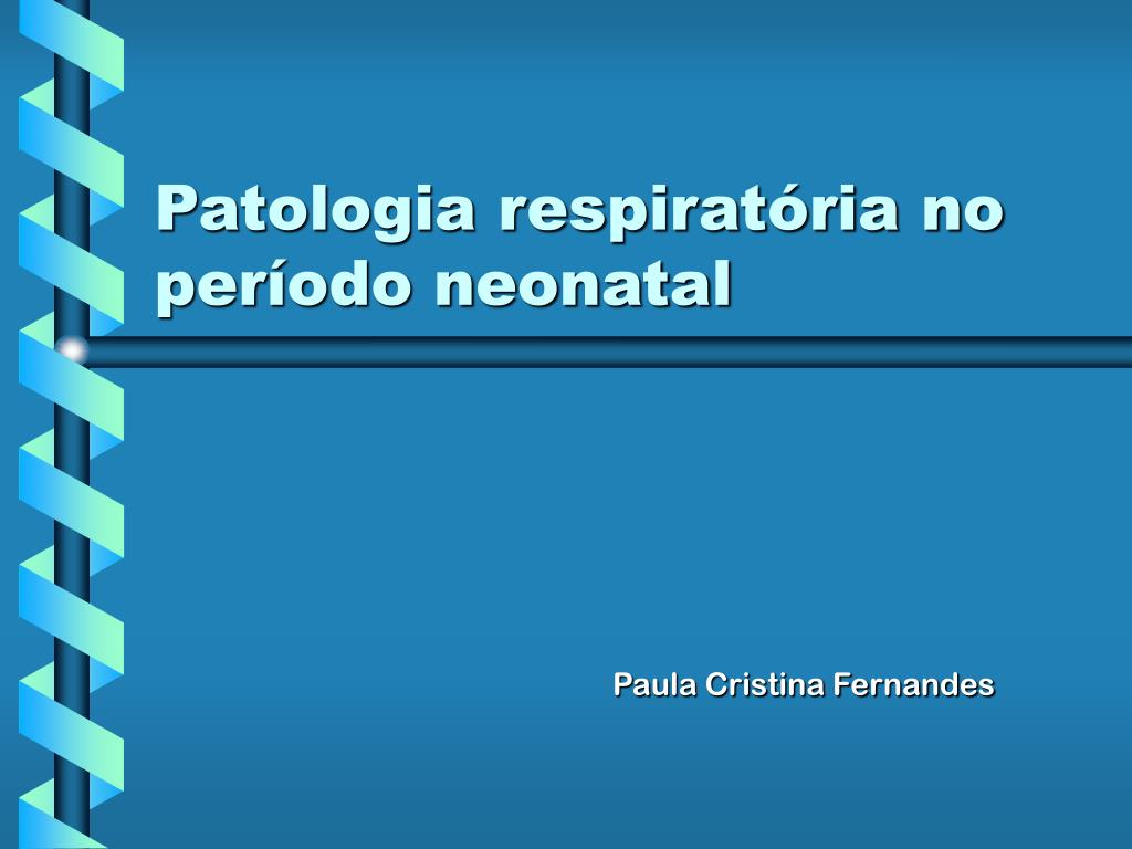 patologia respirat ria no per odo neonatal l.