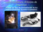 laser soldadura anteojos de seguridad