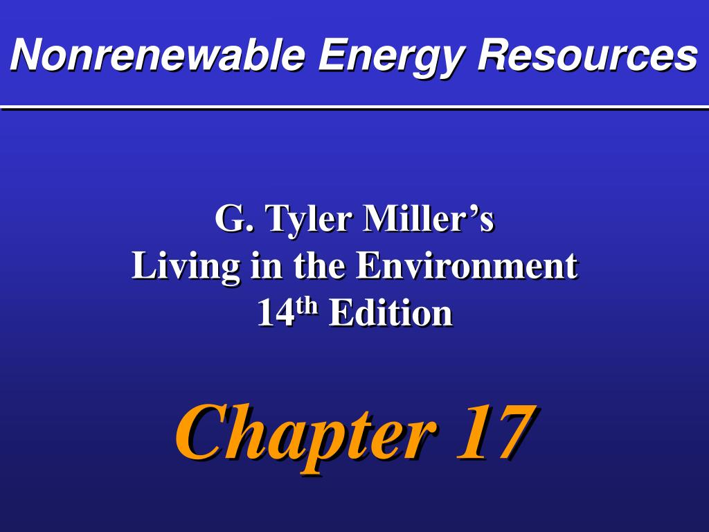 nonrenewable energy resources l.