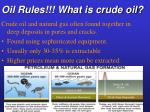 oil rules what is crude oil22