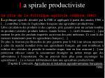 l a spirale productiviste