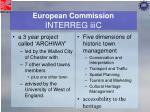 european commission interreg iiic