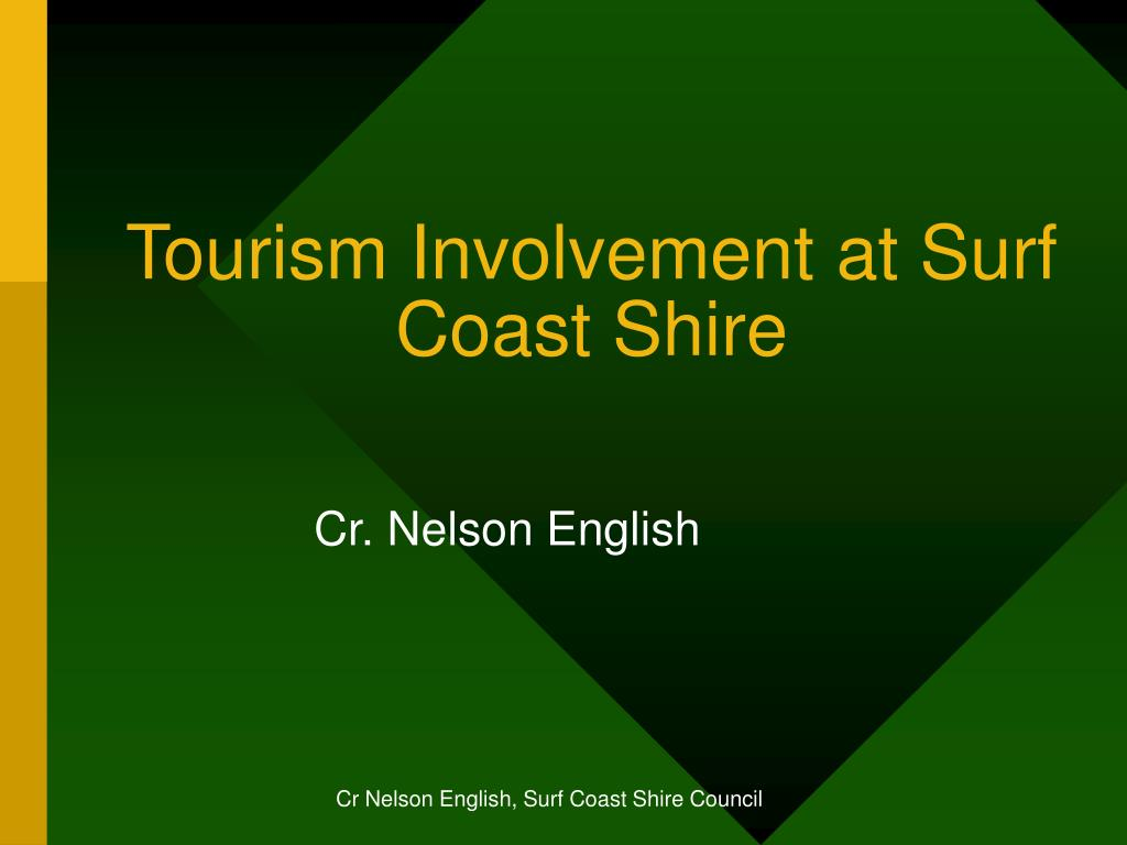 tourism involvement at surf coast shire l.