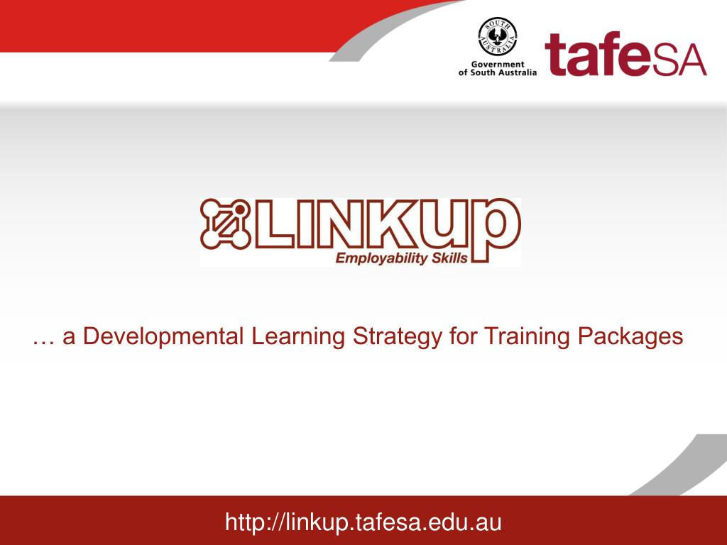 a developmental learning strategy for training packages l.
