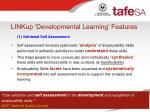 linkup developmental learning features11