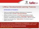 linkup developmental learning features14