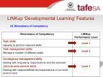 linkup developmental learning features15