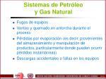 sistemas de petr leo y gas natural