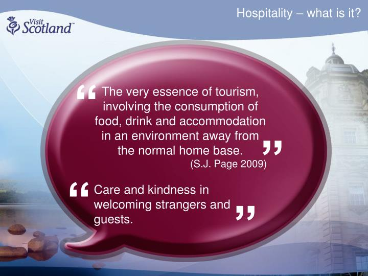 Hospitality what is it