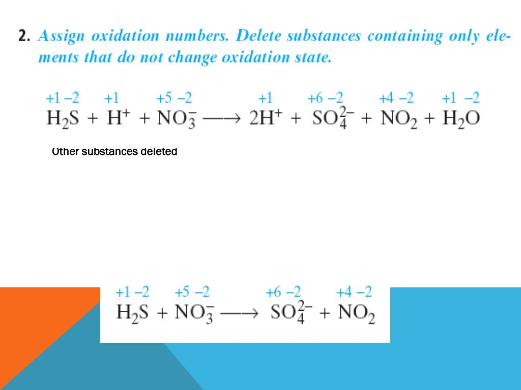 Sulfur changes oxidation state from -2 to +6