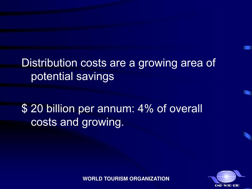 Distribution costs are a growing area of potential savings