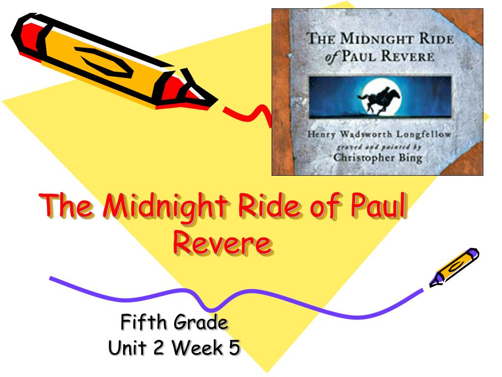 the midnight ride of paul revere l.
