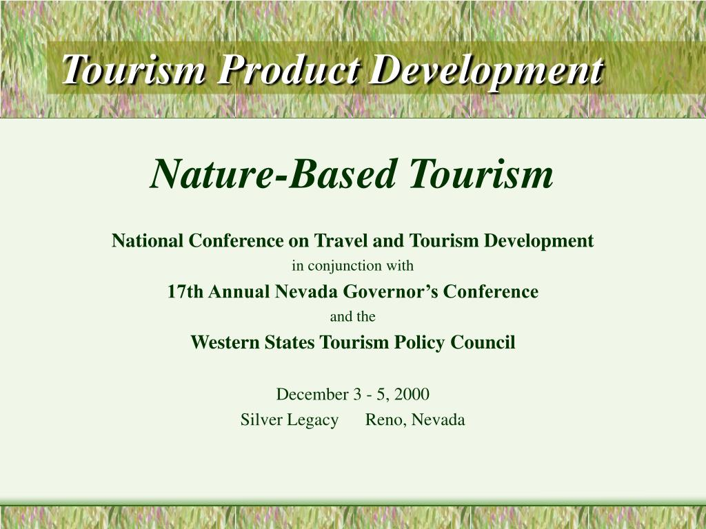 tourism product development l.