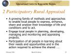2 participatory rural appraisal
