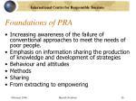foundations of pra