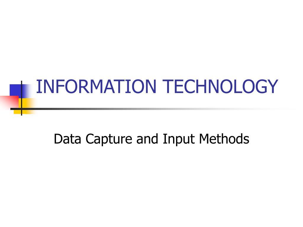 information technology l.