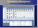 discrepancy management identifying discrepancies